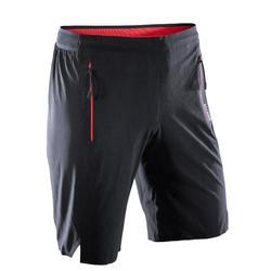 Sporthose kurz FST 900 Cardio-/Fitnesstraining Herren schwarz