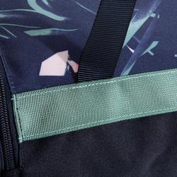 Sporttasche Fitness Ausdauer 20l florales Muster khaki