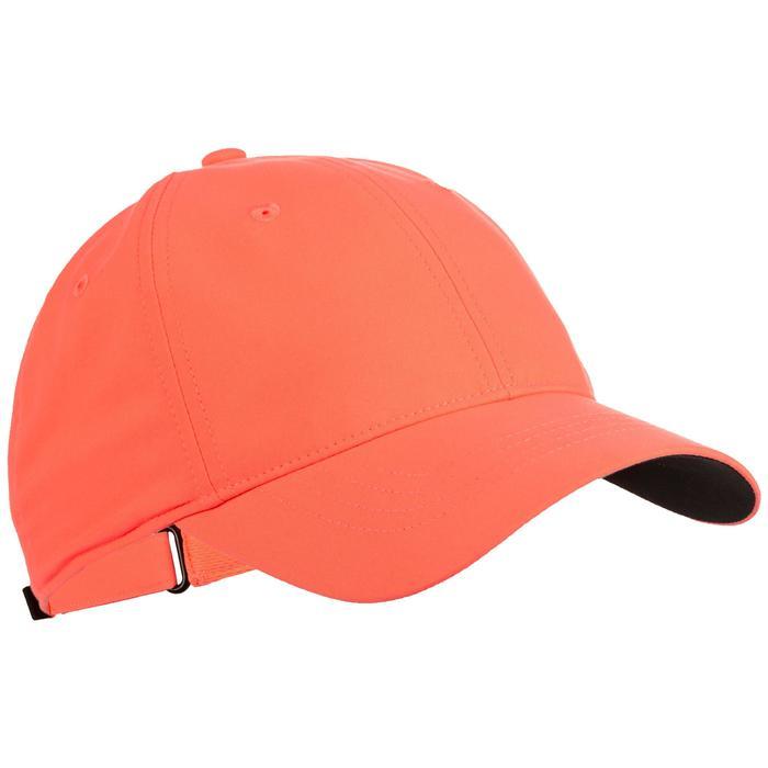 Tennis-Kappe TC 500 Schirmmütze Racketsport koralle/schwarz