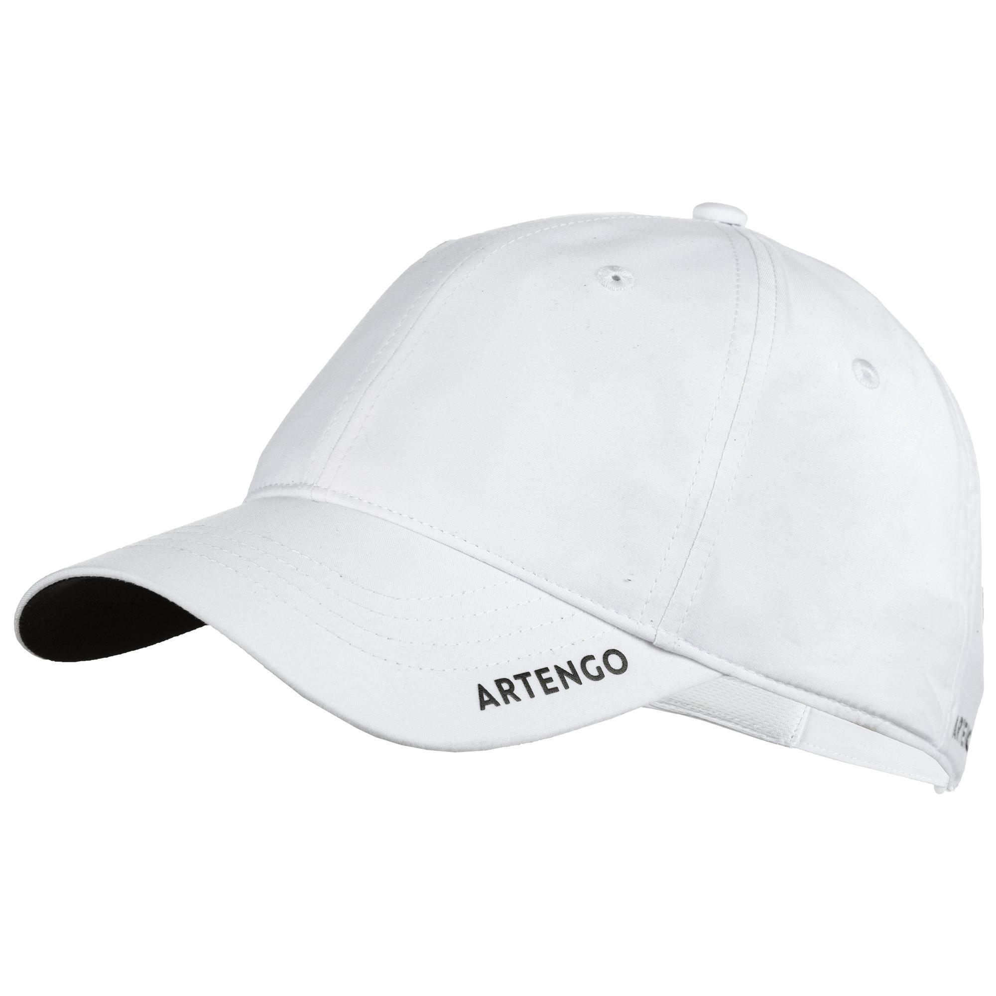 Schirmmütze TC 500 Tennis-Cap flexibel weiß | Accessoires > Caps > Sonstige Caps | Weiß - Schwarz | Artengo
