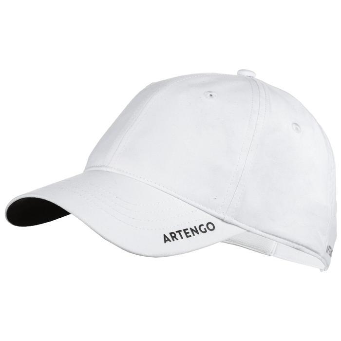 網球帽TC 500(58 cm)-白色