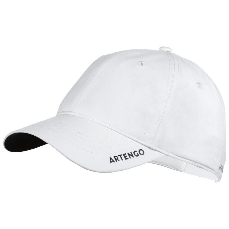 Unisex Tenis Şapkası - Beyaz - TC500