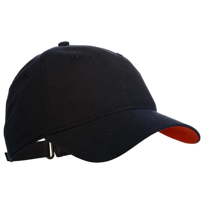 Tennispet TC 500 marineblauw/rood maat 58
