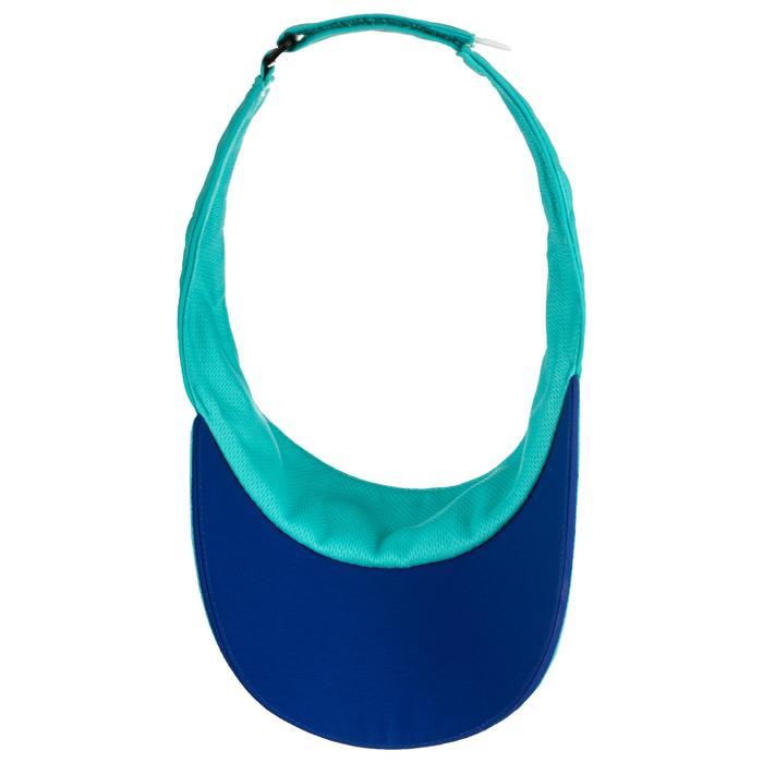 Zonneklep Artengo racketsporten TV 100 turquoise blauw