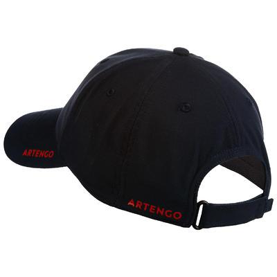 TC 500 Racket Sports Cap - Navy/Red