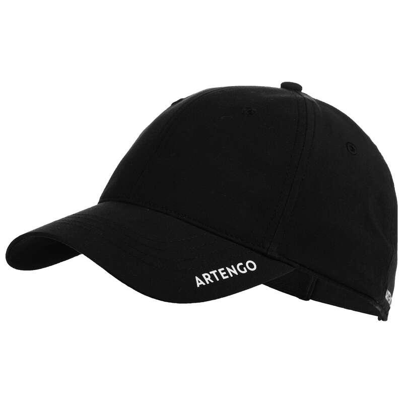 ACCESSORI ABBIGLIAMENTO SPORT DI RACCHET Sport di racchetta - Cappellino tennis TC 500 nero ARTENGO - TENNIS
