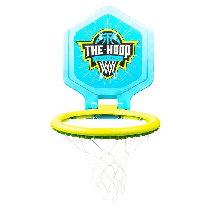 Basketballkorb 500 Wappen Kinder blau/grün transportfähig
