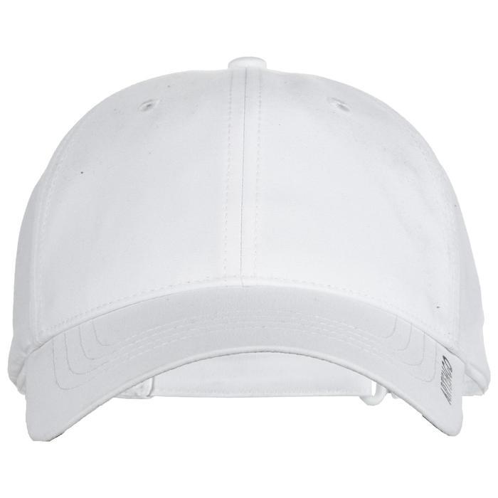 Schirmmütze TC 500 Tennis-Cap flexibel weiß