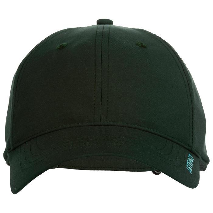 Pet voor racketsport TC 500 kaki/turquoise