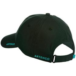 TC 500 Racket Sports Cap - Khaki/Turquoise