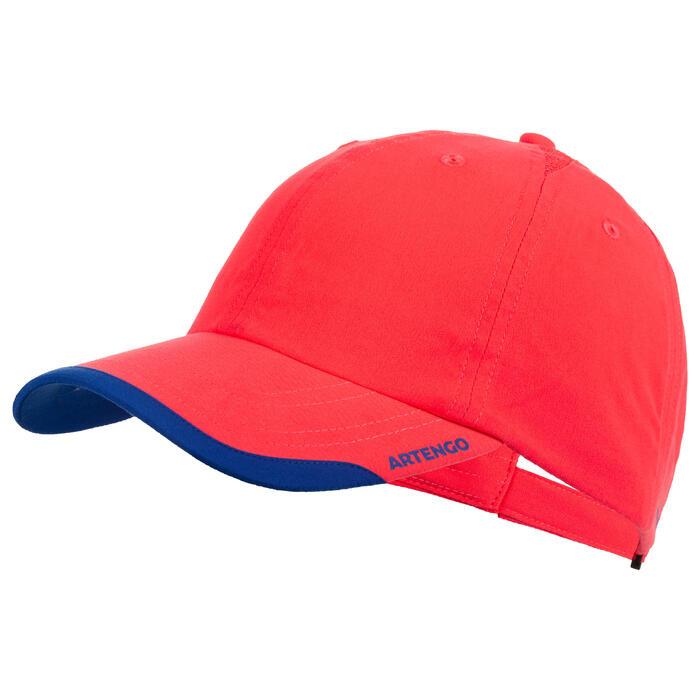 Soepele pet Artengo racketsporten TC 100 roze blauw