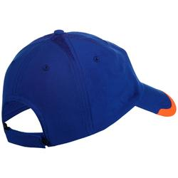CASQUETTE SOUPLE ARTENGO SPORTS DE RAQUETTES TC 100 BLEU ORANGE