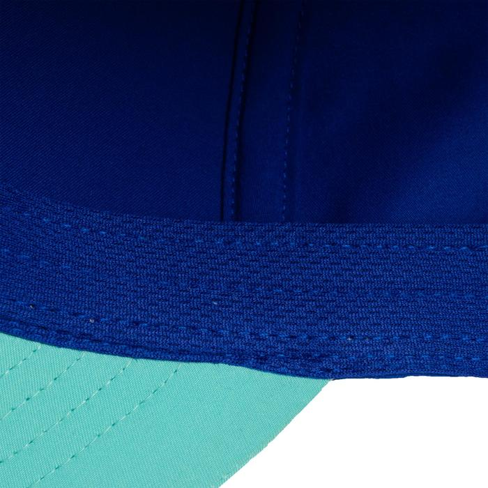 Tennis-Kappe TC 500 Schirmmütze Racketsport Kinder indigo/türkis