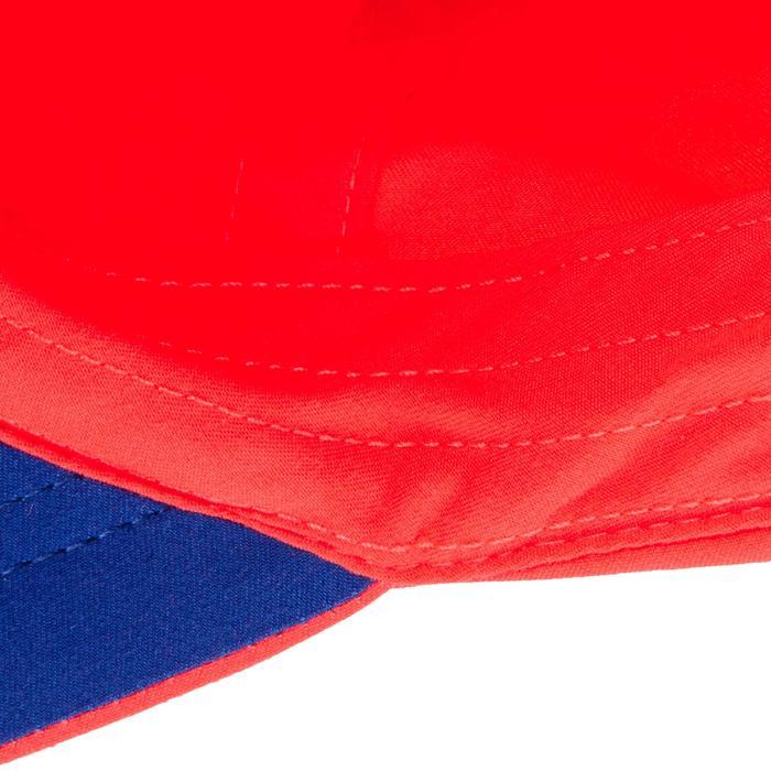 Tennis-Kappe TC 100 Schirmmütze flexibel Racketsport rosa/blau