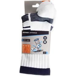RS 560 High Sports Socks Tri-Pack - White/Navy