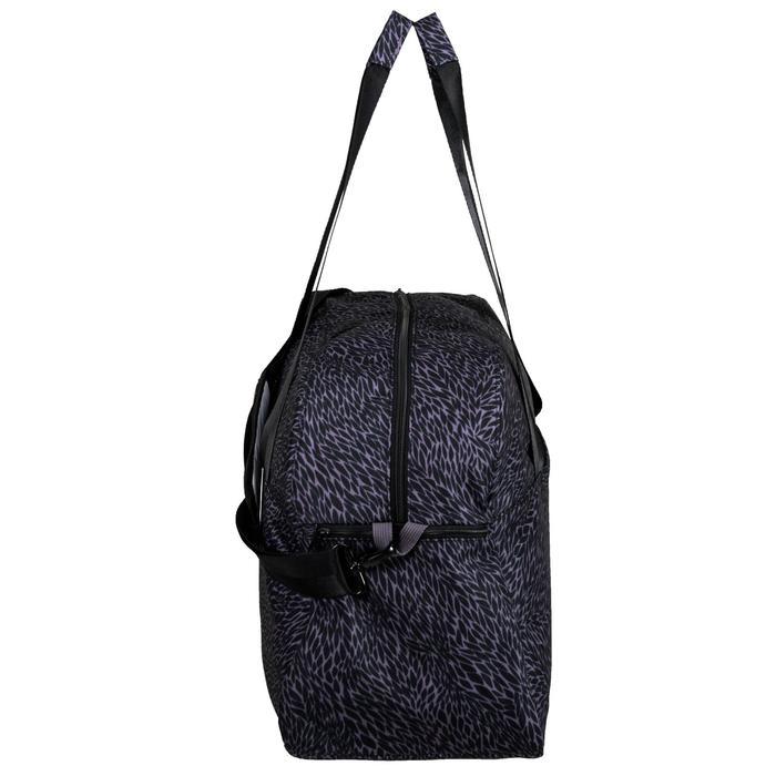 30L Cardio Fitness Bag - Purple and Grey Print
