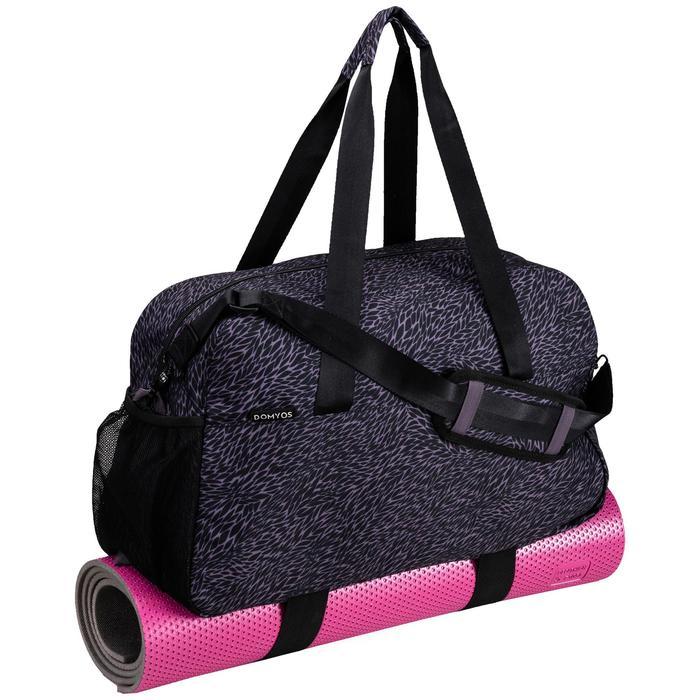 Sporttasche Fitness Cardio 30l violett/grau