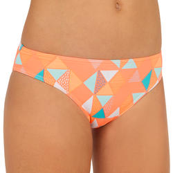 Taloo Valou Girls' Two-Piece Surfing Triangle Bikini Swimsuit - Coral Pink