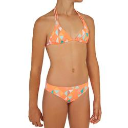 Bikini de surf forma TRIANGULAR TALOO VALOU rosa coral