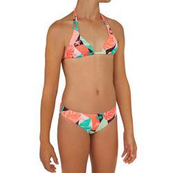 Meisjes Bikini triangeltop Taloo Lilou fluoroze