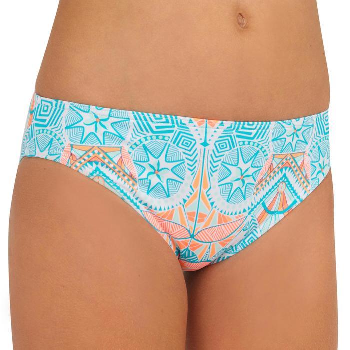 Bikini-Set Bandeau Liloo Maoria Mädchen weiß/blau