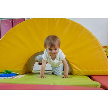 T-Shirt manches courtes baby gym 100 Blanc