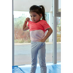 T-shirt manches courtes baby gym S500 Keep In Up Vert