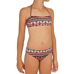 Bikini-Set Bandeau Liloo Samoa Mädchen rosa
