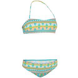 Bikini-Set Bandeau Liloo Samoa Mädchen blau