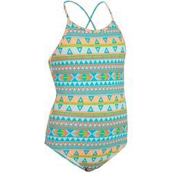 Badeanzug Hanalei Samoa Mädchen gemustert