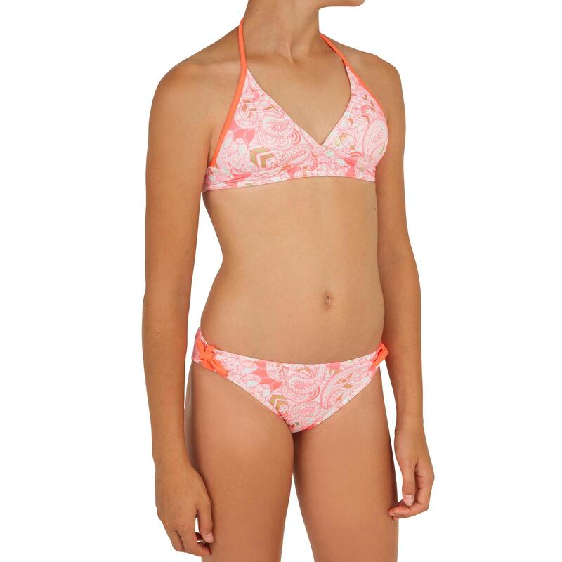 Tami Teen Girls' Two-Piece Halterneck Swimsuit with Padded Cups - Malou