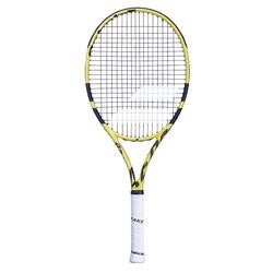 Tennisschläger Aero 26 besaitet Kinder schwarz/gelb