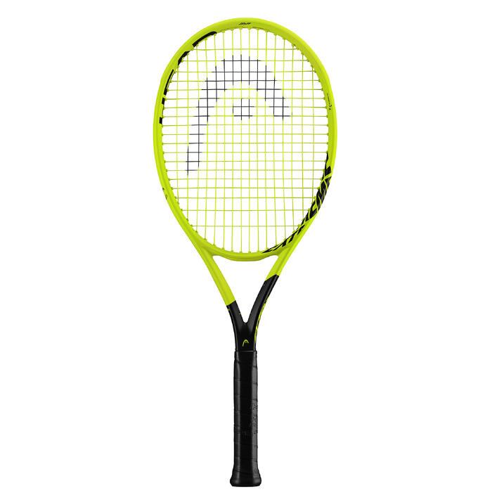 Tennisracket voor volwassenen Extrem MP fluogeel
