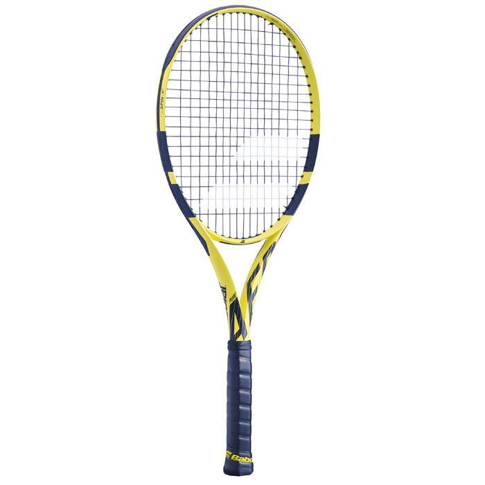 Tennisracket voor volwassenen Pure Aero geel