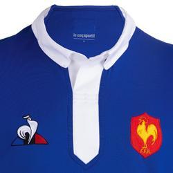 Rugbyshirt replica FFR XC Frankrijk thuiswedstrijden voor volwassenen blauw 2019