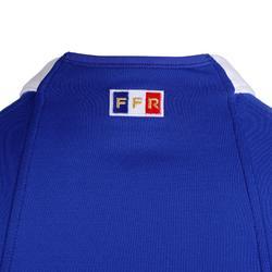 Camiseta de rugby réplica FFR XV de Francia local adulto azul 2019