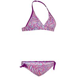Bikini-Set Neckholder Tami Palm Purple herausnehmbare Pads Mädchen