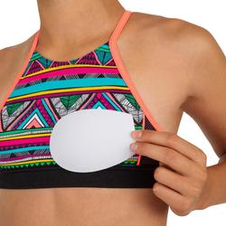Meisjes bikini top met high neck en gekruiste bandjes Baha Naimi