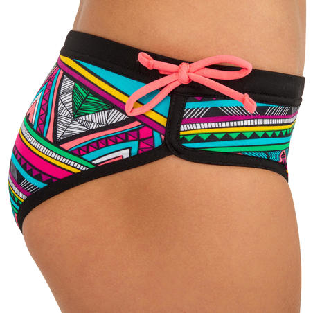 Mas Girls' Surf Shorty Swimsuit Bottoms - Naimi