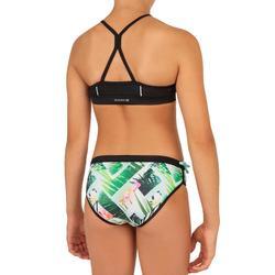 Meisjes bikini top met high neck en gekruiste bandjes Baha Tiare