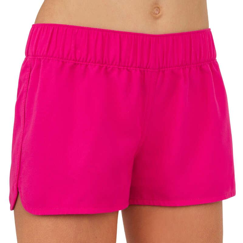 GIRL'S SWIMSUITS Swimwear and Beachwear - Kina Girls' Boardshorts - Pink OLAIAN - Swimwear and Beachwear