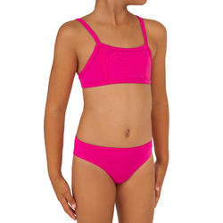Bikini-Set Bustier Bali Mädchen rosa