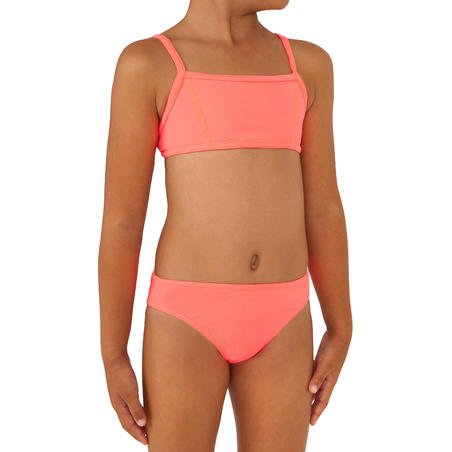 Bali Girls' Two-Piece Crop Top Swimsuit - Granatina