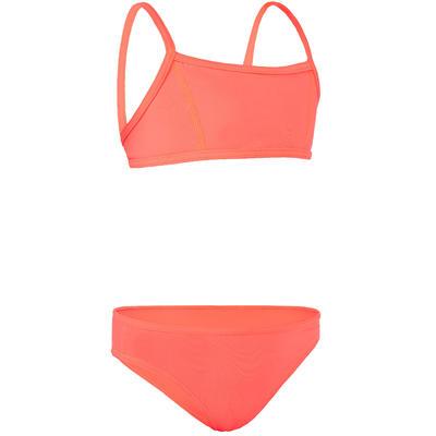 Bali Girls' Two-Piece Crop Top Swimsuit - Granatina