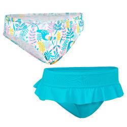 Meisjes zwembroek / bikinibroekje Madi Tuamo blauw