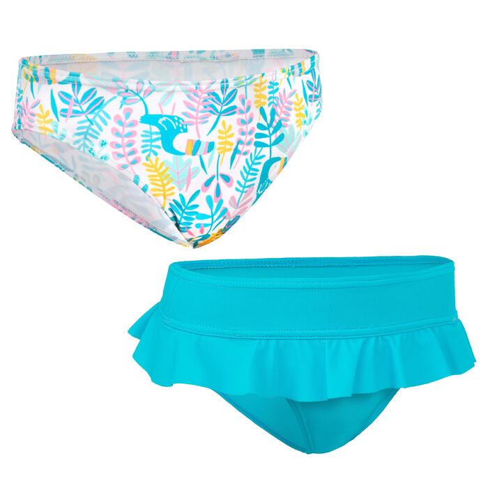 Set zwembroekjes voor surfen Madi Tuamo blauw