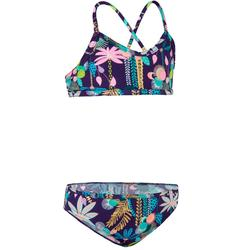 Bikini-Set Bustier Boni Jun Surfen Mädchen violett