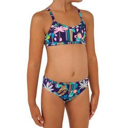 Bikini Completo Surf Olaian Boni Jun Niña Violeta