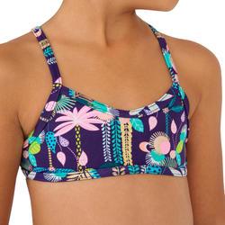 Bikini meisjes met high neck top Boni 100 JUNE