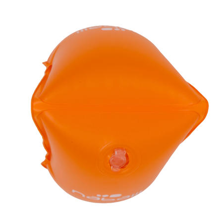 Swimming armbands for 11-30 kg kids - orange